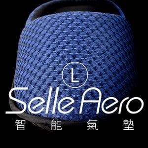 【Selle Aero】低均壓保健智能氣墊室內鞋-護趾款 SP-1208EM1(藍/L)