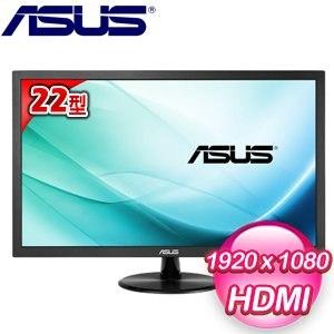 ASUS 華碩 VP229HA 22型 低藍光 不閃屏 寬螢幕