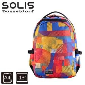 【SOLIS】基本款電腦後背包-Ultra+ 馬戲團系列-小-活力彩(B0502020)