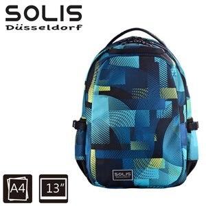 【SOLIS】基本款電腦後背包-Ultra+ 馬戲團系列-小-嬉戲藍(B0502022)