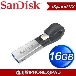 SanDisk iXpand 16G V2 雙面OTG 儲存裝置《Apple適用》