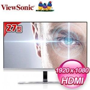 ViewSonic 優派 VX2771-smhv-2 27型 IPS 護眼寬螢幕