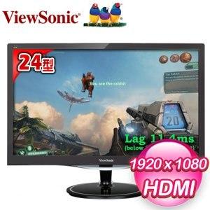 ViewSonic 優派 VX2457-MHD 24型 極速電競寬螢幕