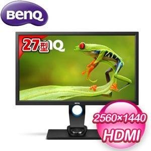 BenQ 明碁 SW2700PT 27型 AHVA專業螢幕顯示器(客訂機種)