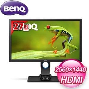 BenQ 明碁 SW2700PT 27型 AHVA專業攝影螢幕