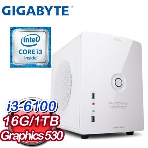 技嘉 H170 平台~奇蹟神魔~Intel Core i3~6100 16G 1TB WI
