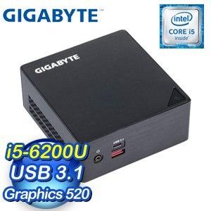 GIGABYTE 技嘉 BRIX GB-BSi5HA-6200 超微型電腦