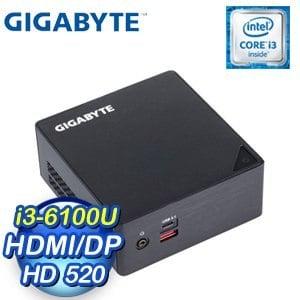 GIGABYTE 技嘉 BRIX GB-BSi3HA-6100-BA 超微型電腦