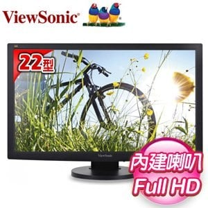 ViewSonic 優派 VG2233Smh 22型 Full HD LED液晶螢幕