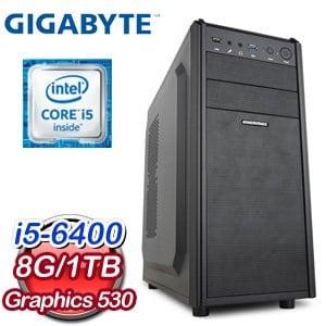 技嘉 B150 平台【極影追獵】Intel Core i5-6400 8G 1TB 6代高效能電腦