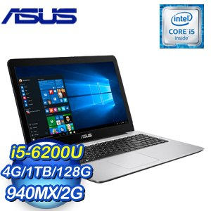 ASUS 華碩 K556UQ-0081B6200U 筆記型電腦《霧面藍》