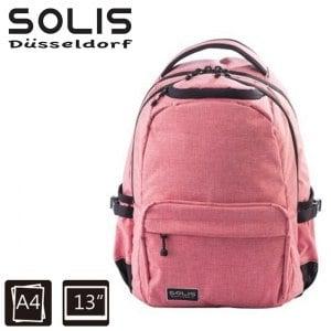 【SOLIS】前袋款電腦後背包Ultra+ 海涅1797系列-小-粉嫩櫻(B05019)