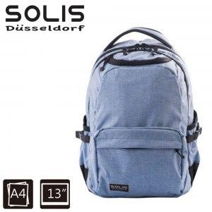 【SOLIS】前袋款電腦後背包Ultra+ 海涅1797系列-小-海涅藍(B05020)