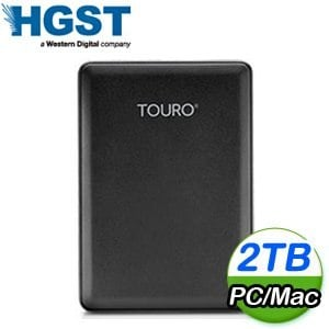 HGST Touro Mobile Reflash 2TB 2.5吋 USB3.0 超薄外接式硬碟