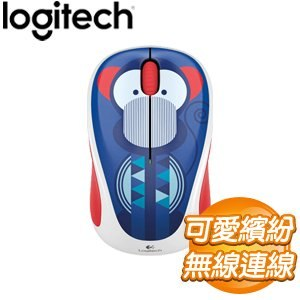 Logitech 羅技 M238 無線滑鼠《猴子》