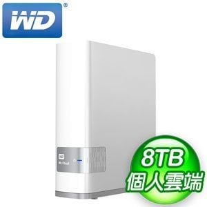WD 威騰 8TB My Cloud NAS 網路儲存伺服器