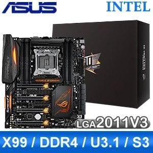 ASUS 華碩 RAMPAGE V EDITION 10 LGA2011V3 主機板《原廠五年保固》