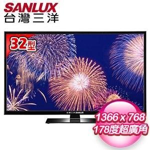SANLUX台灣三洋 32型 LED背光液晶顯示器 SMT-K32LE