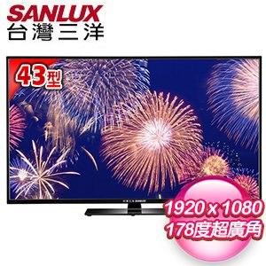 SANLUX台灣三洋 43型 LED背光液晶顯示器 SMT-K43LE