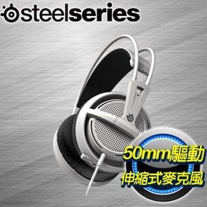 SteelSeries Siberia 200 耳機麥克風《白》