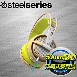 SteelSeries Siberia 200 耳機麥克風《綠》