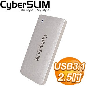 CyberSLIM M2 USB3.1 固態硬碟外接盒(Type-C)
