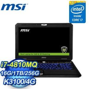 MSI 微星 WT60 2OK-1291TW-BB748116G1T0DS7V 筆記型電腦