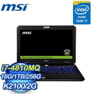 MSI 微星 WT60 2OJ-1289TW-BB748116G1T0DB7V 筆記型電腦