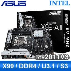 ASUS 華碩 X99-A II LGA2011 V3 主機板《原廠註冊四年保固》