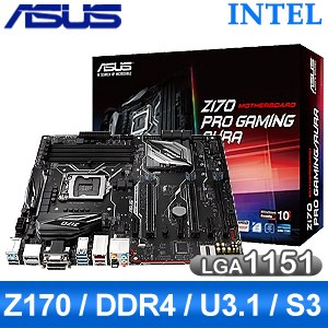 ASUS 華碩 Z170-PRO GAMING/AURA LGA1151《原廠五年保固》