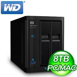 WD 威騰 My Cloud Pro PR2100 8TB(4TBx2) NAS伺服器
