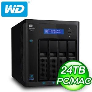 WD 威騰 My Cloud Pro PR4100 24TB(6TBx4) NAS伺服器