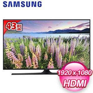 【Samsung三星】43型 FHD平面多媒體LED液晶電視(UA43J5100)
