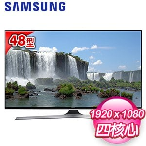 【Samsung三星】48型 FHD智慧LED液晶電視(UA48J6200)