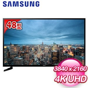 【Samsung三星】48型 UHD 4K 平面智慧液晶電視(UA48JU6000)
