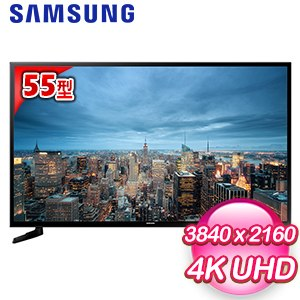 【Samsung三星】55型 UHD 4K 平面智慧液晶電視(UA55JU6000)