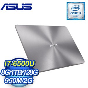 ASUS 華碩 UX510UX-0061A6500U 筆記型電腦《金屬灰》