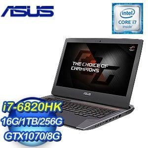 ASUS 華碩 G752VS-0051A6820HK 17吋筆記型電腦《灰》