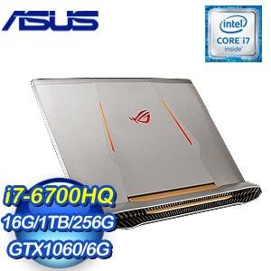ASUS 華碩 G752VM-0021A6700HQ 筆記型電腦