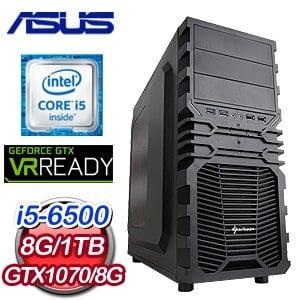 華碩 H170 平台~珂蒂妮塔~Intel i5~6500 GTX1070 電競VR虛擬實