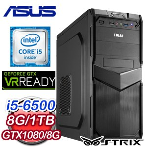 華碩 Z170 平台~艾芭格琳~Intel i5~6500 GTX1080 電競VR虛擬實