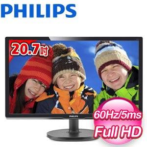 PHILIPS 飛利浦 216V6LSB2 20.7吋 16:9 Full HD LED螢幕顯示器