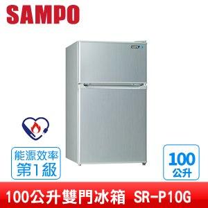 SAMPO聲寶 100公升雙門冰箱 SR-P10G