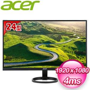 Acer 宏碁 R241Y 24型 Full HD 薄邊框寬螢幕