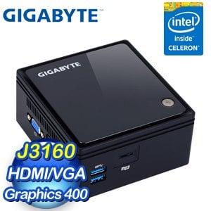 GIGABYTE 技嘉 BRIX GB-BACE-3160 超微型電腦