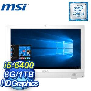 MSI 微星 Pro 24T 6M-005TW-B564008G1T0S7VAMXS AIO 桌上型電腦