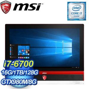 MSI 微星 Gaming 27 6QE-022TW-R7670016G1T0DS10 AIO液晶電腦