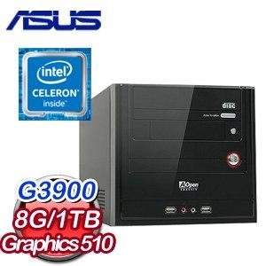 微星 H110 平台【辦公神器】Intel Celeron G3900 8G 1TB 超值文書機