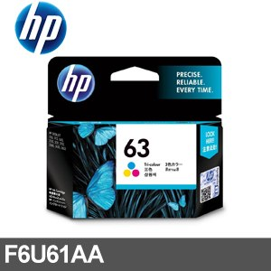 HP 墨水匣 F6U61AA~三色~