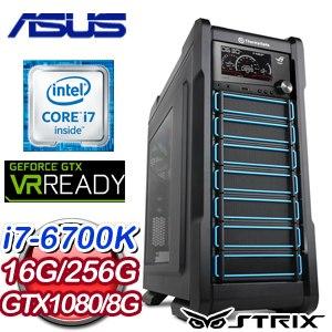 華碩 Z170 平台【雷神眾】Intel i7-6700K GTX1080 電競VR虛擬實境機